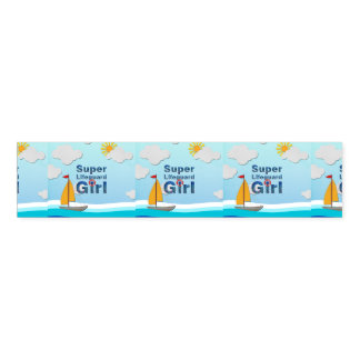 TOP Lifeguard Girl Napkin Band