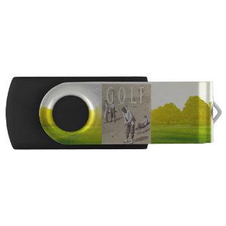 TOP Links Golf Swivel USB 2.0 Flash Drive