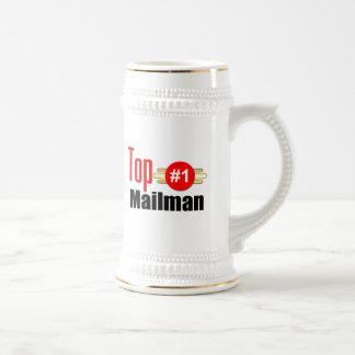 Top Mailman Beer Stein