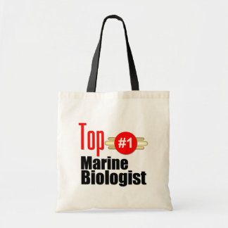 Top Marine Biologist Canvas Bag