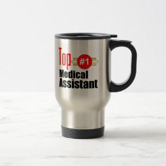 Top Medical Assistant Stainless Steel Travel Mug