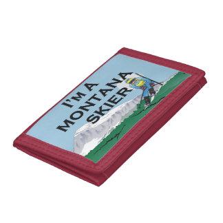 TOP Montana Skier Tri-fold Wallets