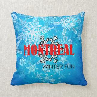 TOP Montreal Winter Fun Cushion