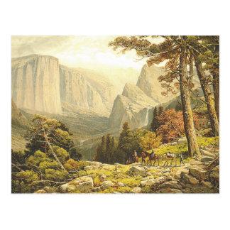 TOP Mountain Hike Postcard