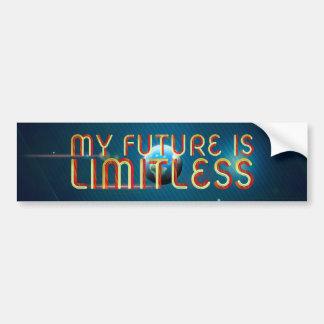 TOP My Future Is Limitless Bumper Sticker