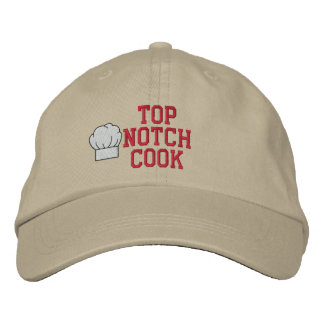 Top Notch Cook Embroidered Hat