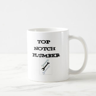 top notch plumber coffee mug