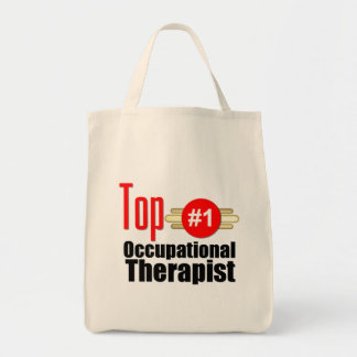 Top Occupational Therapist Grocery Tote Bag