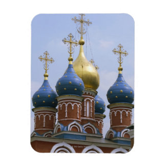 Top of Russian Orthodox Church in Russia Rectangular Photo Magnet