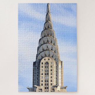 Top of the Chrysler Building Jigsaw Puzzle