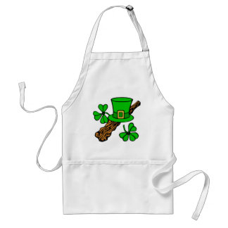 top of the morning to ye standard apron