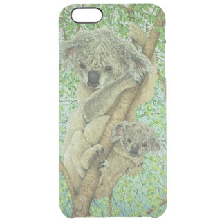 Top of the tree clear iPhone 6 plus case