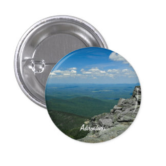 Top of Whiteface Mountain, Adirondacks, NY 3 Cm Round Badge