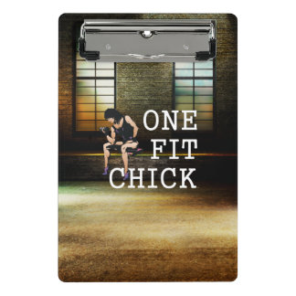 TOP One Fit Chick Mini Clipboard