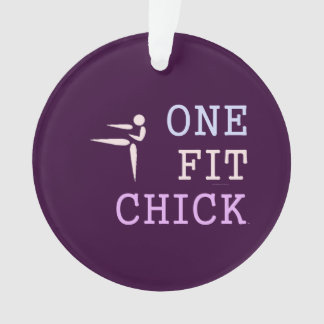 TOP One Fit Chick Ornament
