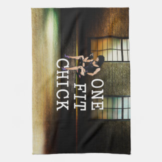 TOP One Fit Chick Tea Towel