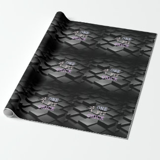 TOP One Fit Chick Wrapping Paper