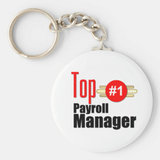 Top Payroll Manager Key Ring