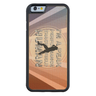 TOP Peak Performance Track Carved Maple iPhone 6 Bumper Case