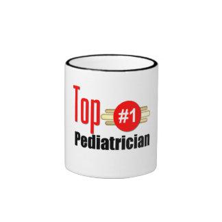 Top Pediatrician Ringer Mug