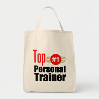 Top Personal Trainer Grocery Tote Bag