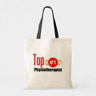 Top Physiotherapist Budget Tote Bag