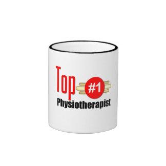 Top Physiotherapist Ringer Mug