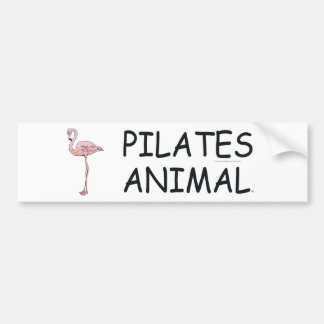 TOP Pilates Animal Bumper Sticker