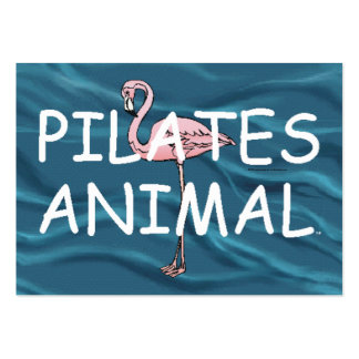 TOP Pilates Animal Pack Of Chubby Business Cards
