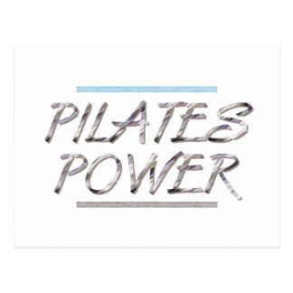 TOP Pilates Power Postcard