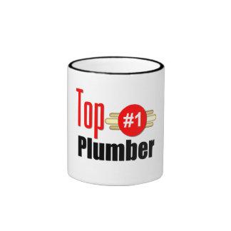 Top Plumber Ringer Coffee Mug