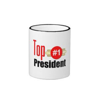 Top President Ringer Mug