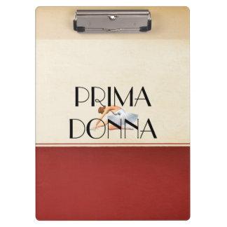 TOP Prima Donna Clipboard