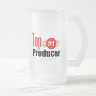 Top Producer Frosted Glass Mug