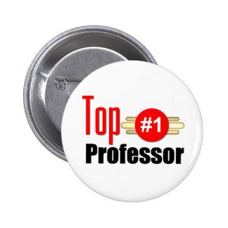 Top Professor 6 Cm Round Badge