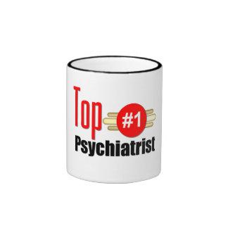 Top Psychiatrist Ringer Coffee Mug