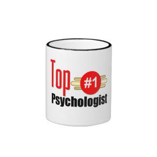Top Psychologist Ringer Coffee Mug