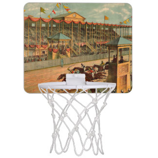 TOP Race Day at the Track Mini Basketball Hoop