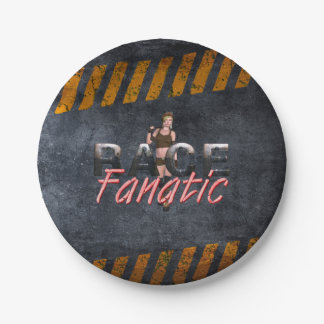 TOP Race Fanatic Paper Plate