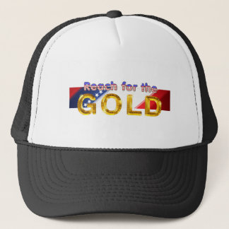 TOP Reach for the Gold Trucker Hat