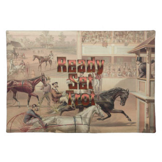 TOP Ready Set Trot Placemat