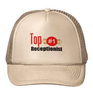 Top Receptionist Trucker Hat