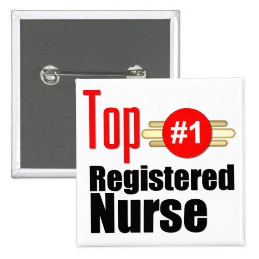 Top Registered Nurse Pin