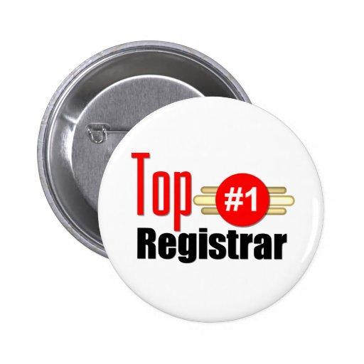 Top Registrar Pinback Button