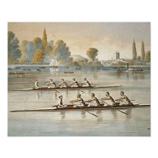 TOP Rowing Print