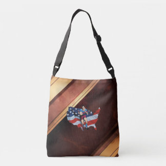 TOP Rugby in the USA Crossbody Bag