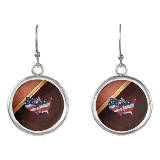 TOP Rugby in the USA Earrings