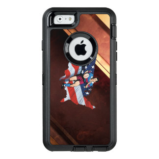 TOP Rugby in the USA OtterBox Defender iPhone Case