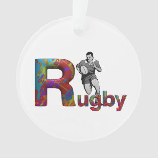TOP Rugby Ornament