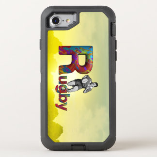 TOP Rugby OtterBox Defender iPhone 8/7 Case